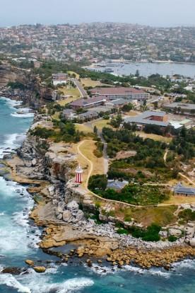 Aerial photography of Sydney Coastline