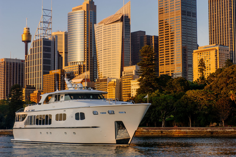 Tango Yacht on Sydney Harbour